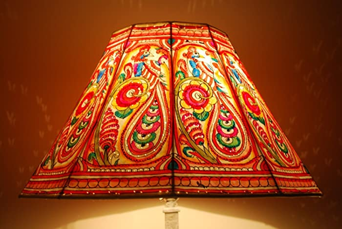 Amazon peacock ethnic lampshade lampshade floor lamp lamp peacock ethnic lampshade lampshade floor lamp lamp shade large floor lamp shade mozeypictures Image collections