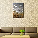 Wieco Art Morning Dancing 100% Hand Painted Floral