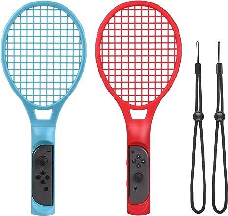 Raqueta de Tenis para Nintendo Switch Joy Con, Raqueta de Tenis ...