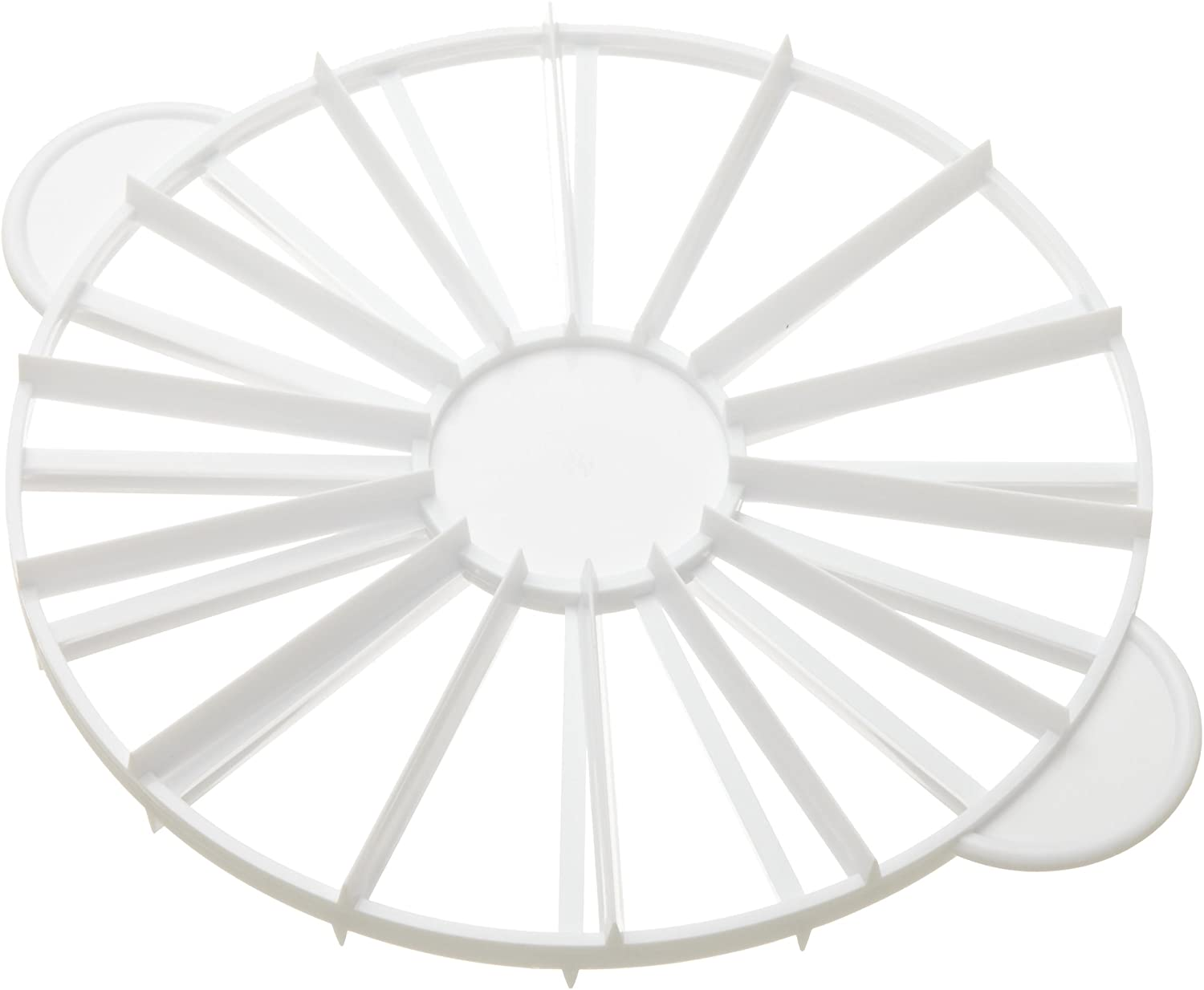 Ateco 1328 Cake Portion Marker, 14 or 16 Slices, Works for Cakes Up To 16-Inches Diameter
