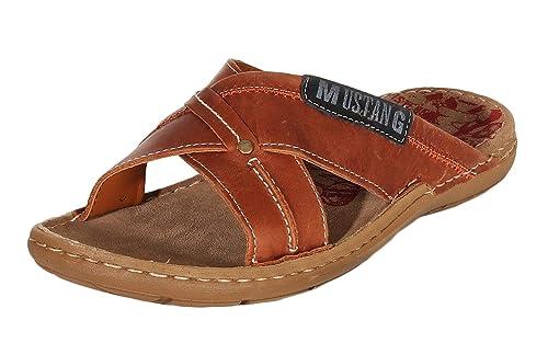 MUSTANG Shoes Herren Schuhe Pantoletten Sandalen 4923 701