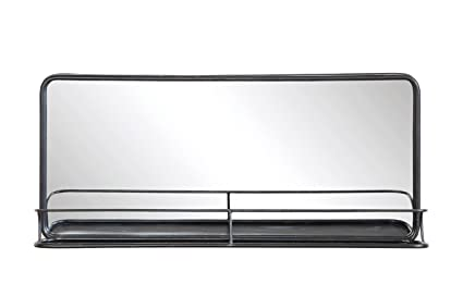 Amazon.com: Creative Co-Op Metal Mirror with Shelf, 36