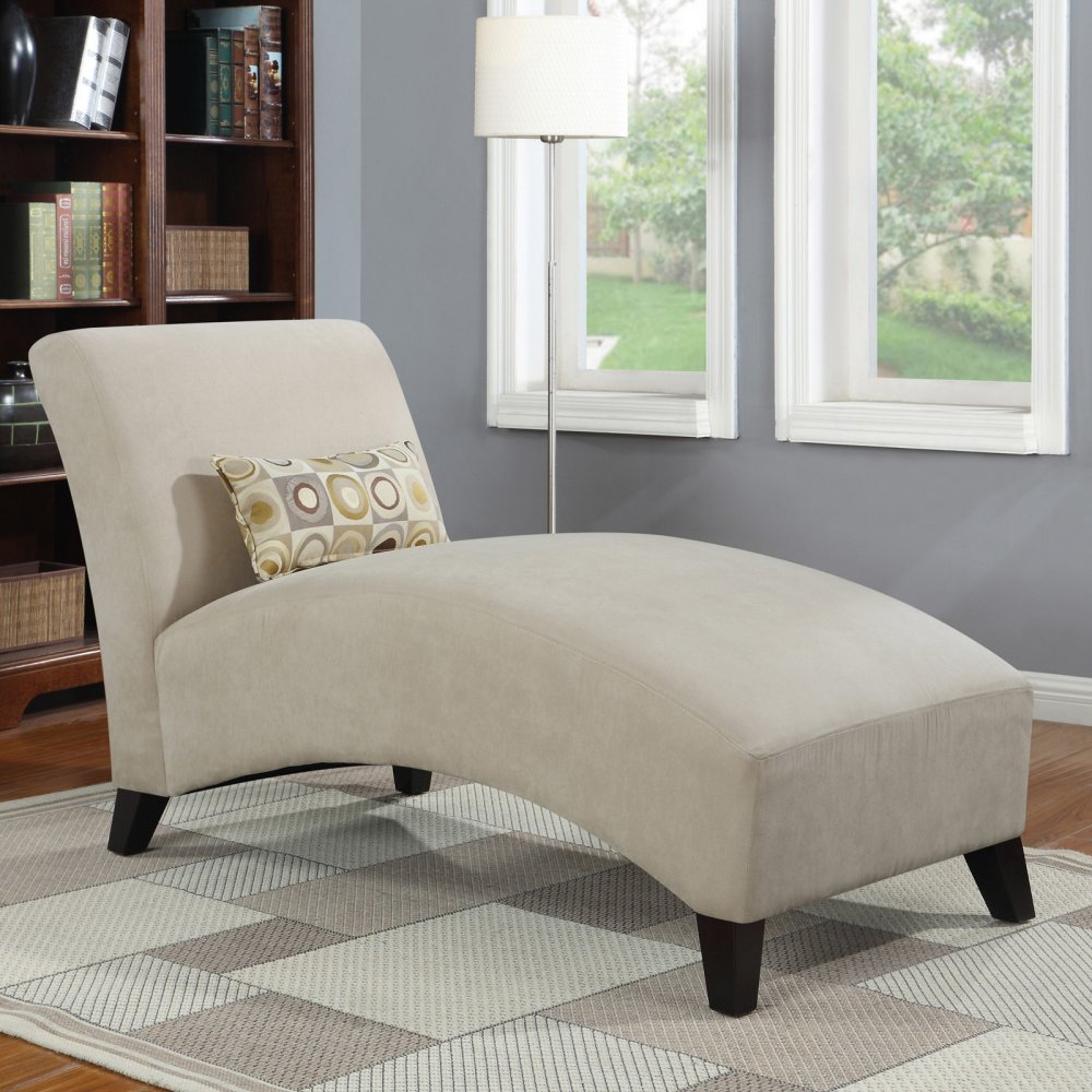 Amazon.com Handy Living 340CL-AAA82-084 Microfiber Chaise Khaki Kitchen u0026 Dining : chaise amazon - Sectionals, Sofas & Couches