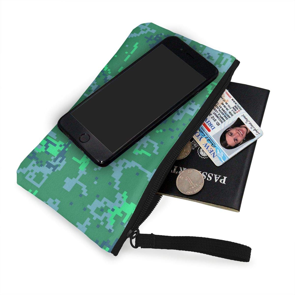 Yamini Seamless Camouflage Pattern Cute Looking Coin Purse Small and Exquisite Going Out to Carry Purse