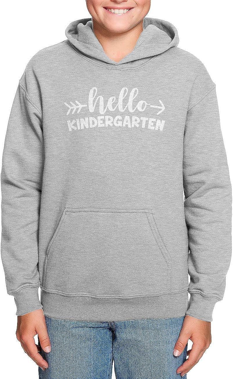Back to School Toddler//Youth Fleece Hoodie HAASE UNLIMITED Hello Kindergarten