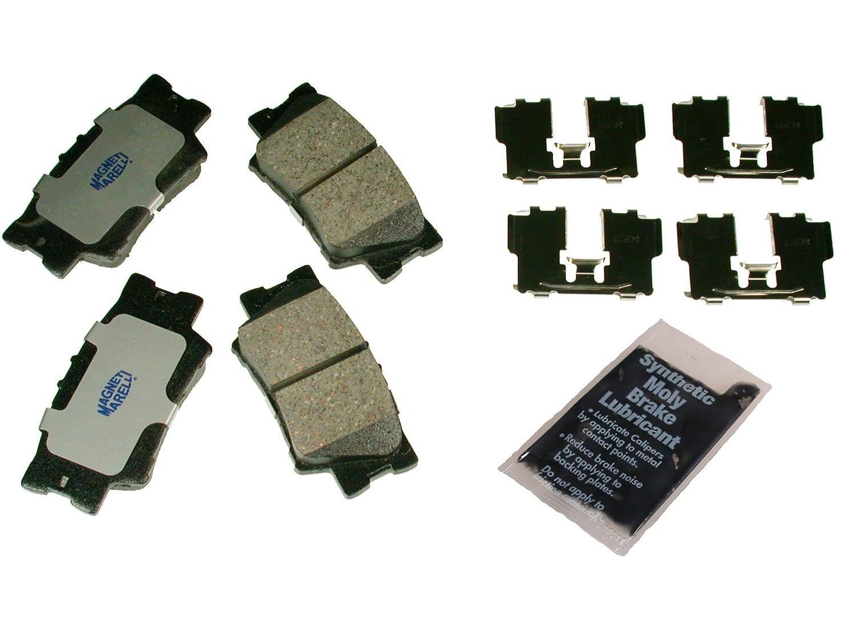 Magneti Marelli by Mopar 1AM401212A Ceramic Rear Disc Brake Pad Kit 4 Pack