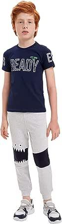 DeFacto Pantalones de chándal para niño con estampado