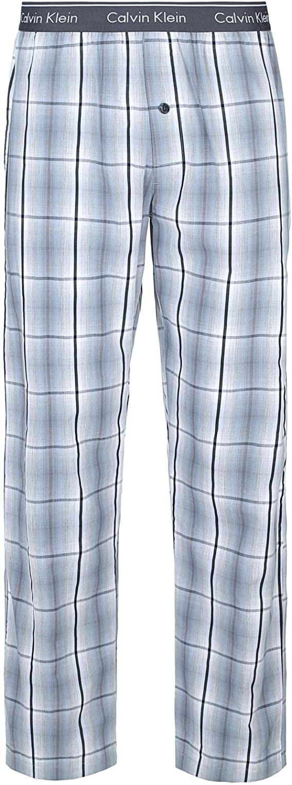 Calvin Klein Underwear Wovens-Pant Pantalones de Pijama, Gris ...
