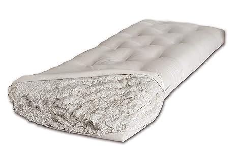 Letto Futon Una Piazza E Mezza : Futon cotone naturale materasso letto giapponese singolo piazza e
