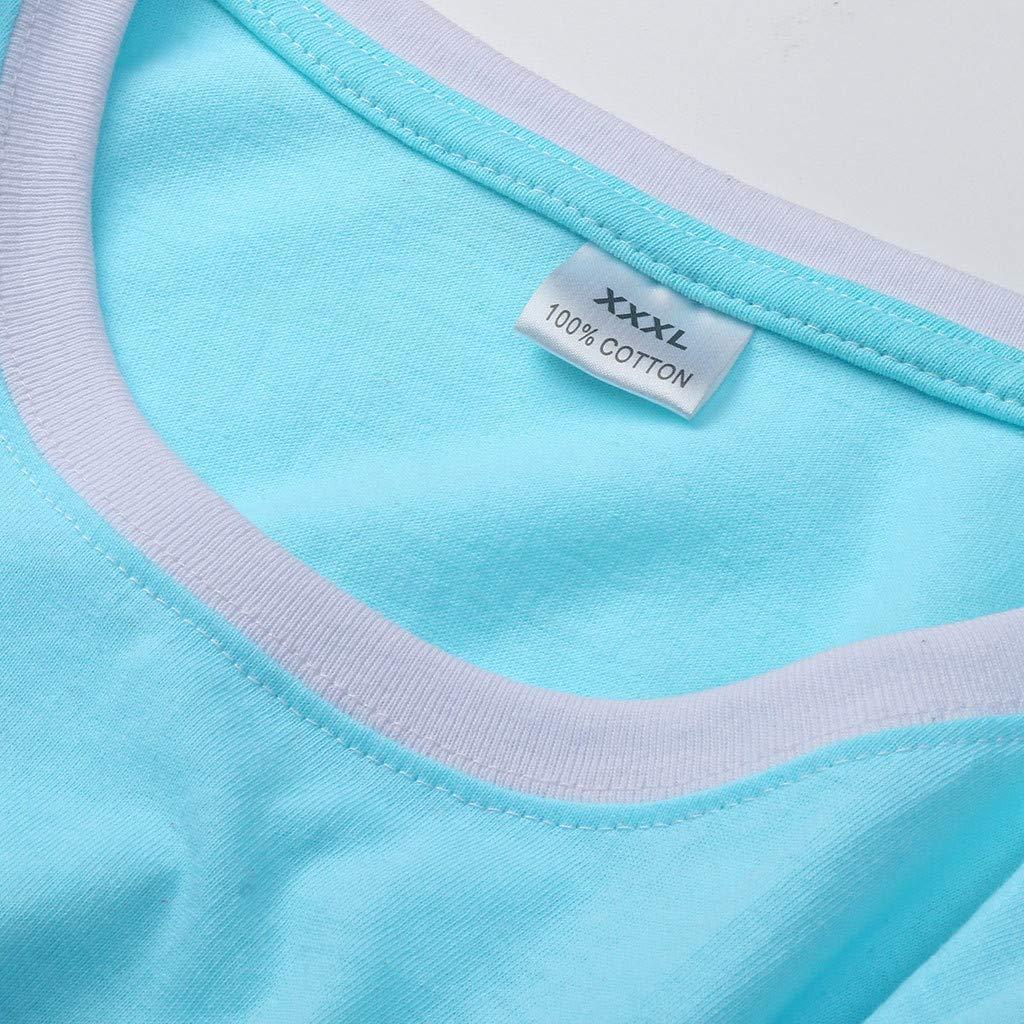 Sweatshirt Femme Imprimé,Solike Pullover Blouse Sweaters Noël Grande Taille Christmas Top Tricoté Manches Longues Bleu-7