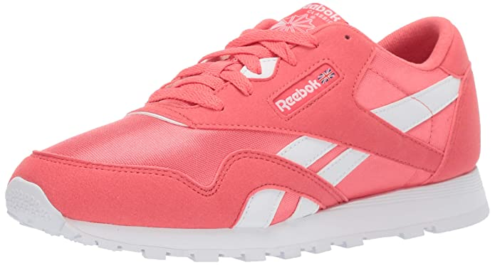 Reebok Classic Nylon Big Kids Shoes Bright Rose/White cn7626