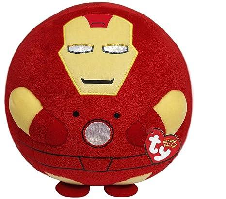 Ty Beanie Ballz Iron Man Plush, Large