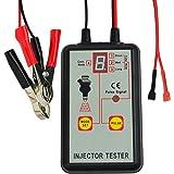 Automotive Fuel Injector Tester, 12V 4 Pulse Modes, Handheld Car Vehicle Fuel Pressure System Diagnostic Scan Testing…