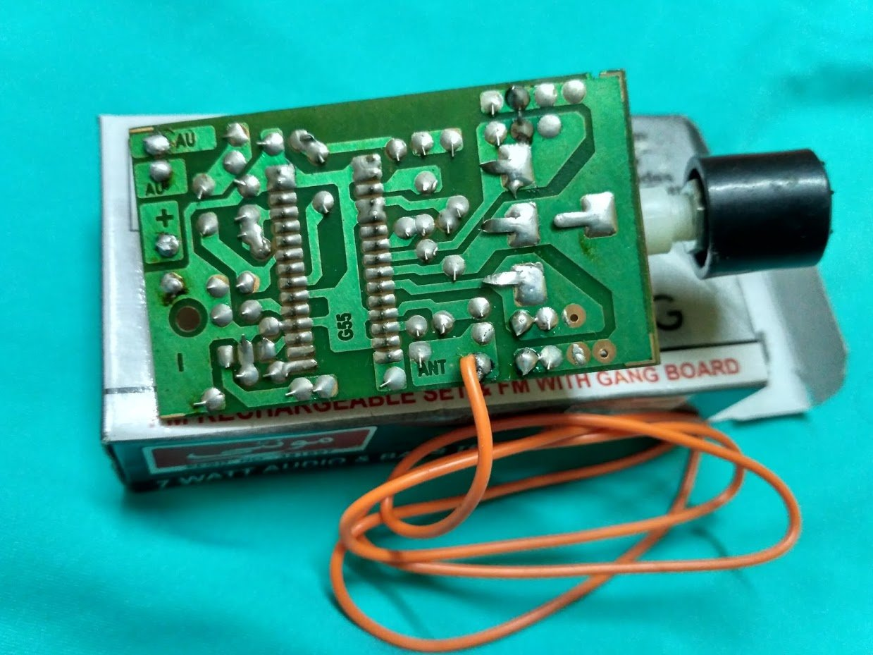 Fm Receiver Board Analog Module Wired Circuit Buy Boardfm Electronics