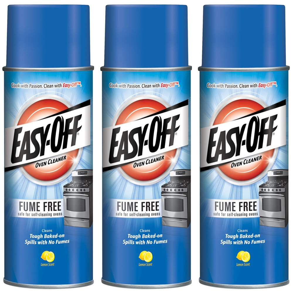 Easy-Off Fume Free Oven Cleaner, Lemon 14.5 oz Can (Pack of 3) by Easy Off (Image #1)