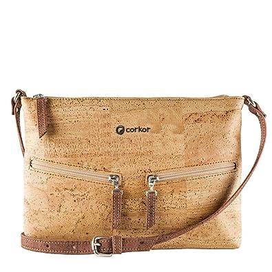 7dc11a9e7b Corkor Cork Purse Crossbody Women Handbag from Portugal