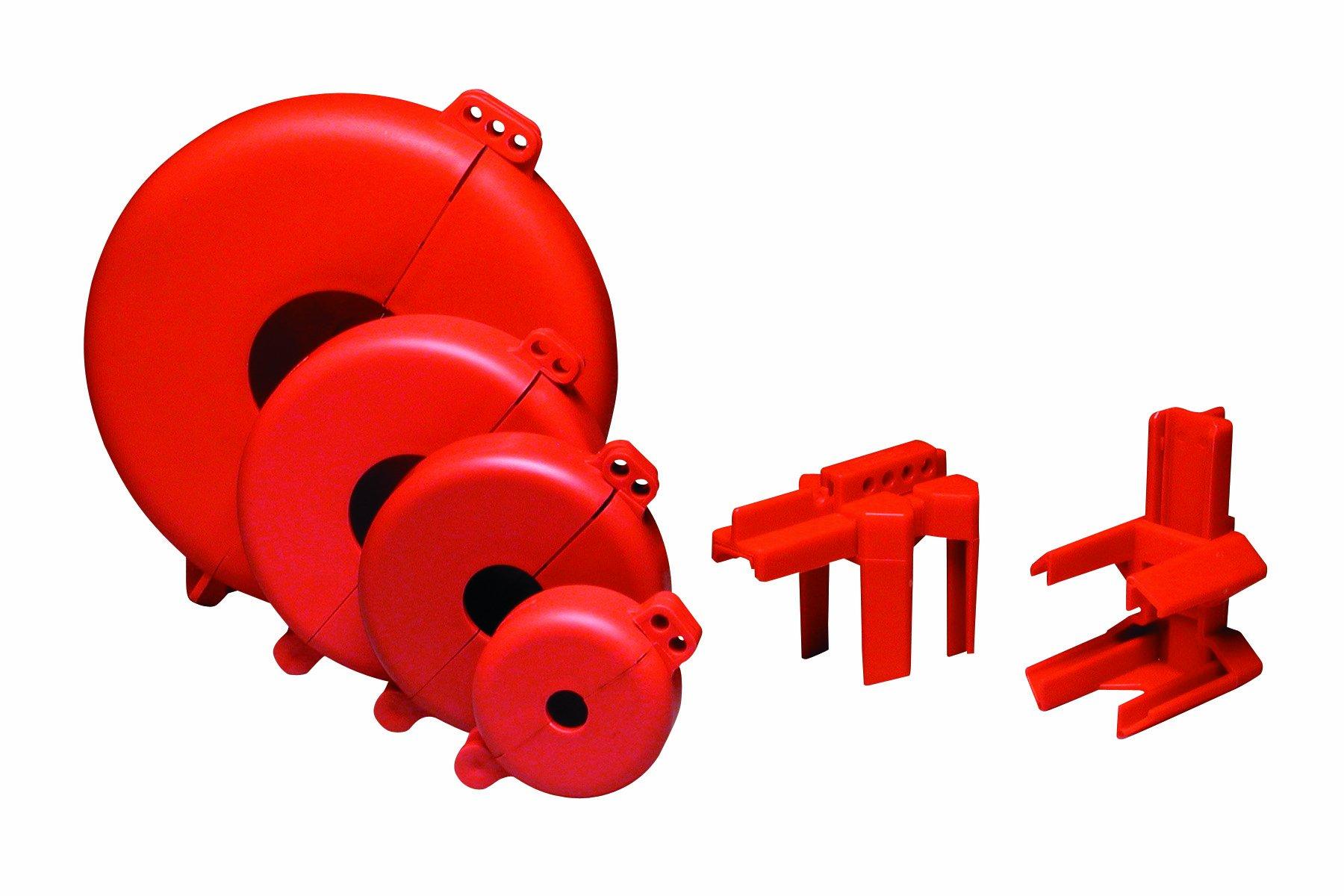 Brady LK095E Prinzing valve Lockout Starter Kit (1 Kit)