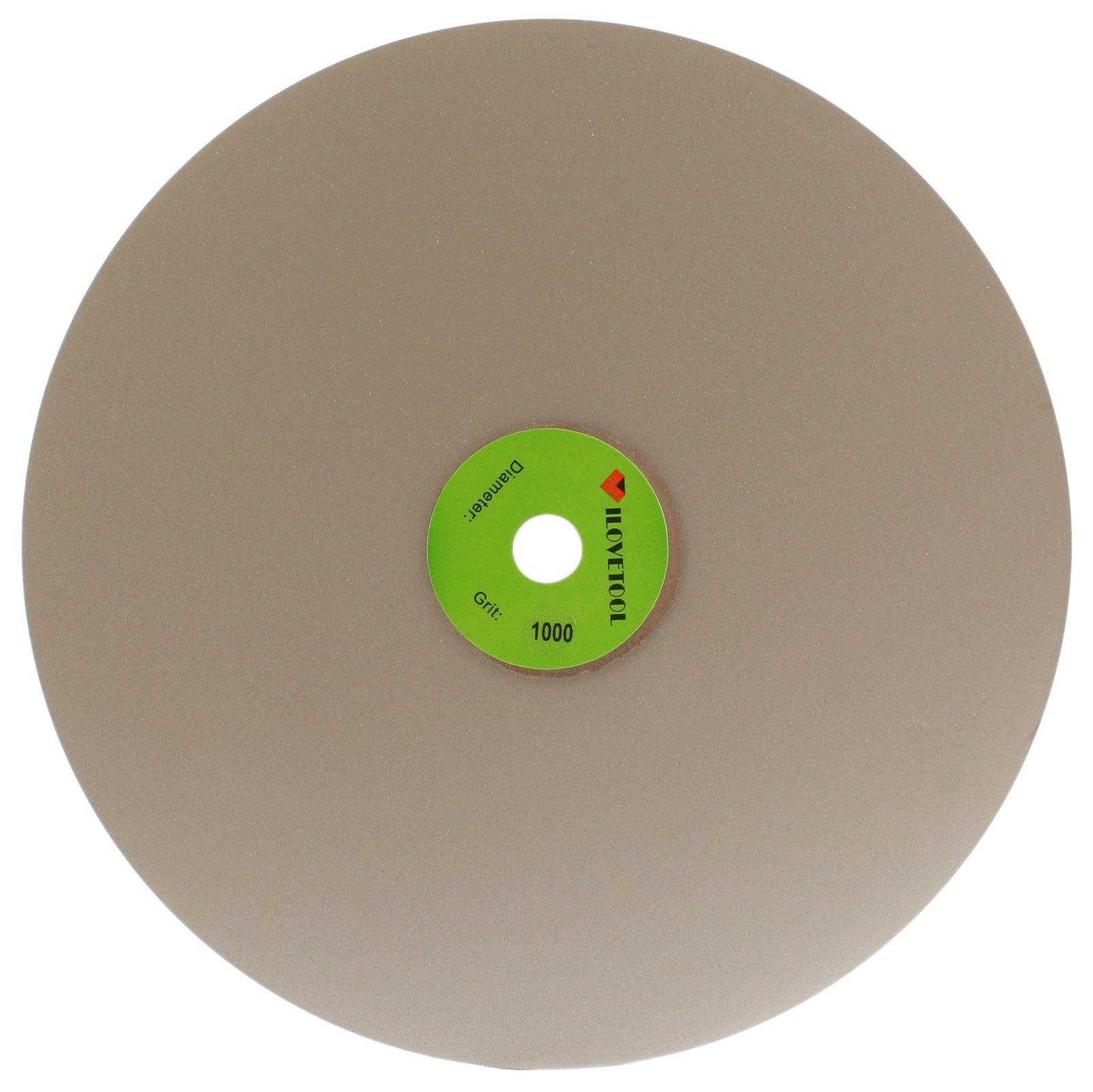ILOVETOOL 350mm Diamond Discs Super Fine Grinding Wheel 1000 Grit Jewelry Tools Stone