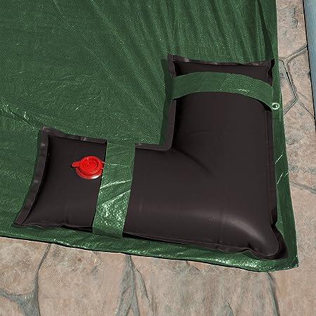 Pool Mate 1-3809-BLK Heavy-Duty 16 Gauge 8-Foot Black Winter Water Bag For Swimming Pool Covers
