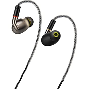 HiFi Walker A7 Triple Driver High Resolution Earphone Earbuds Headset Headphones Microphone, Remote Control, Remote Cable, Carrying case