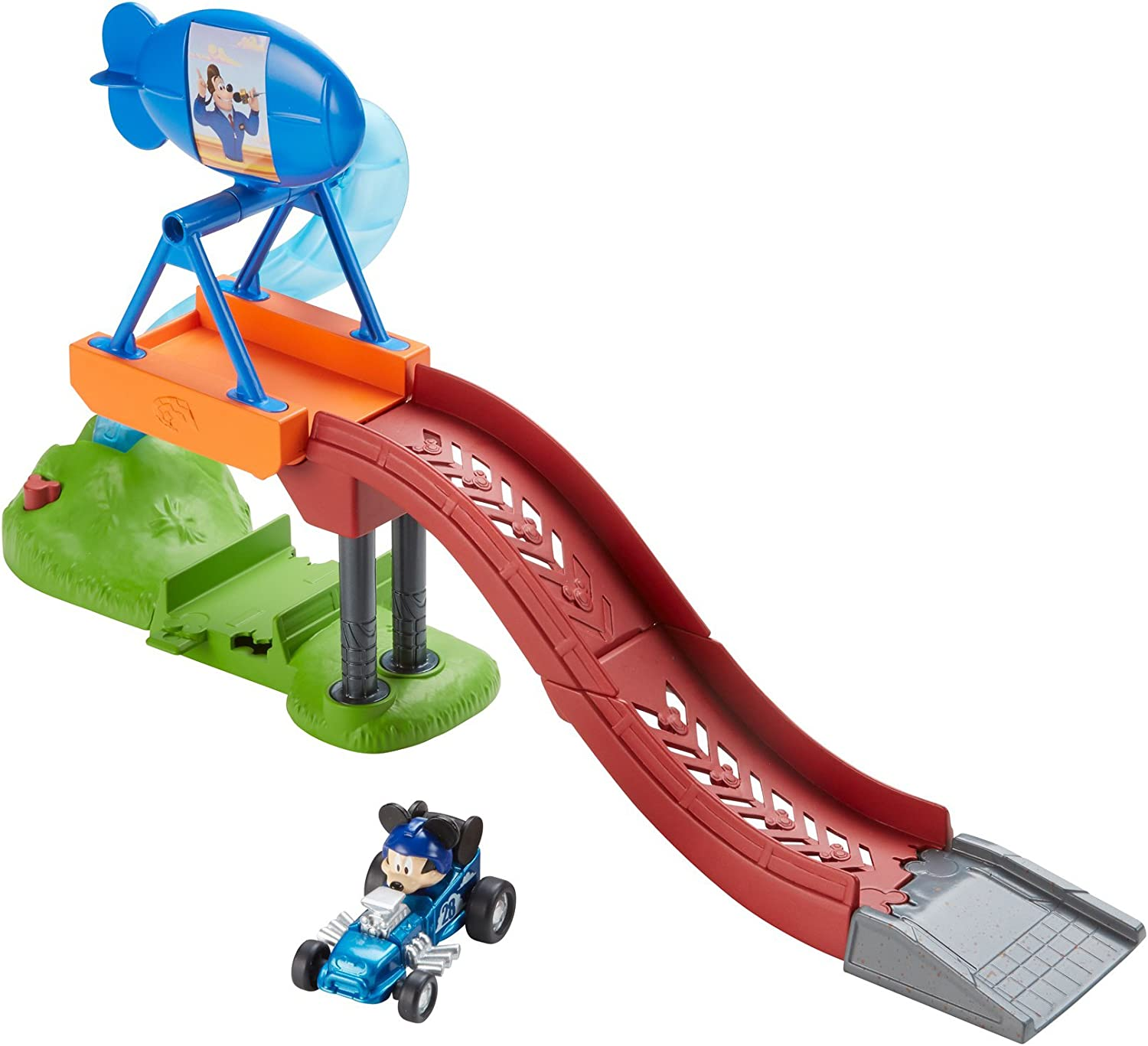 Fisher-Price Disney Mickey & Friends Racer Jumps (Assorted - Styles May Vary)