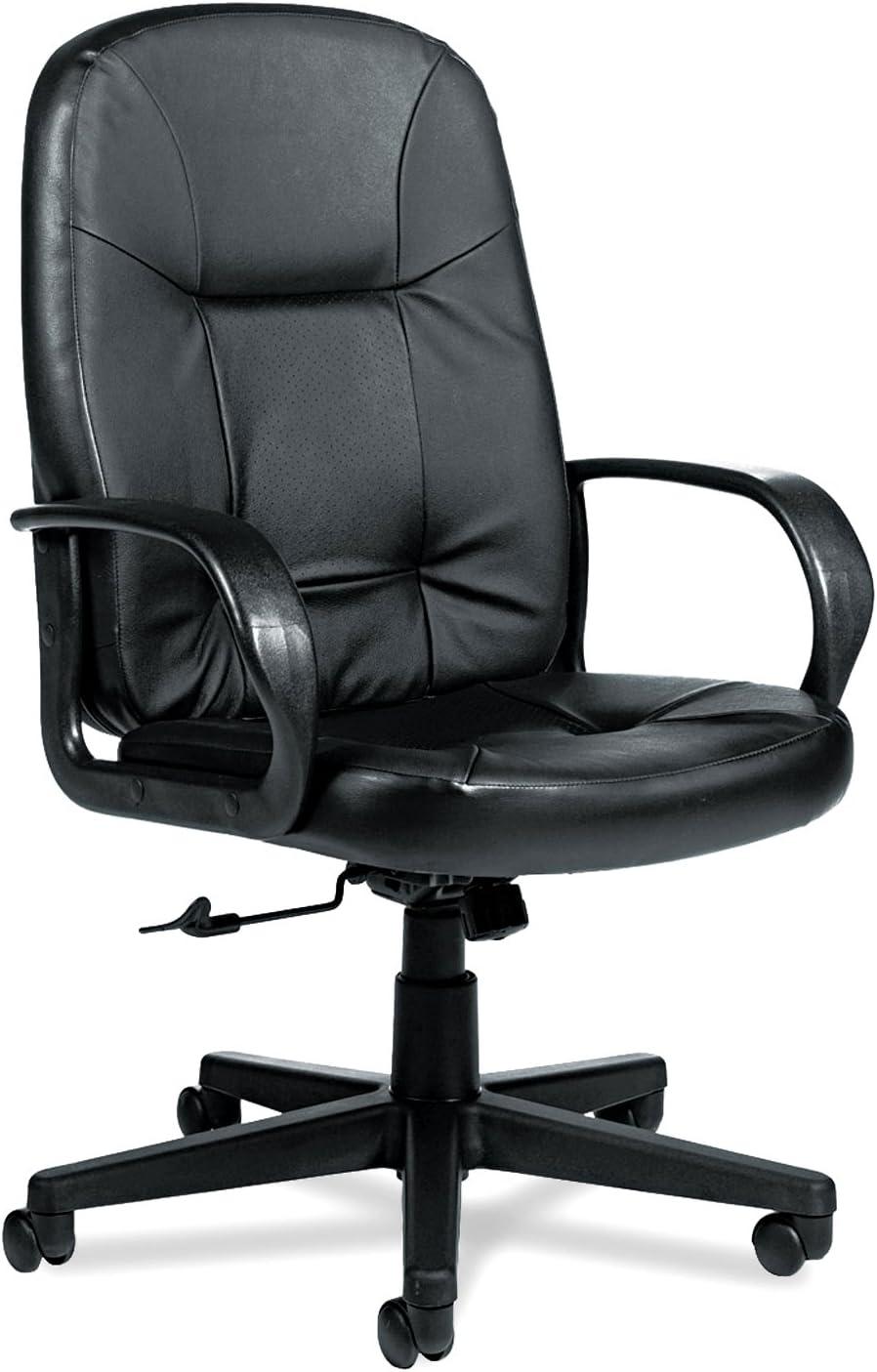 Global Arno Executive Leather High-Back Swivel/Tilt Chair