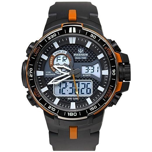 Muchachos Digital/Reloj Dual Sport/Al Aire Libre Impermeable Reloj-D