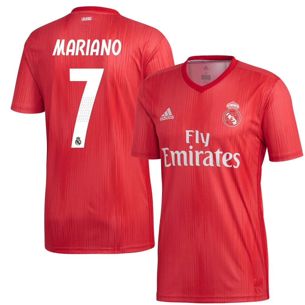 Player Print - adidas Performance Real Madrid 3. Authentic Trikot 2018 2019 + Mariano 7