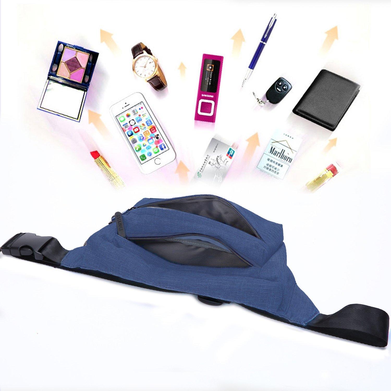 TINYAT Belt Bum Bag Travel Hiking Outdoor Sport Fanny Pack Waist Bag Holiday Money Hip Pouch T251