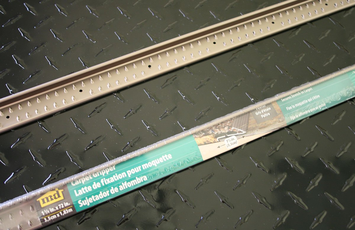 M-D Building Products 43886 72-Inch Fluted Carpet Gripper with Teeth - Door Thresholds - Amazon.com