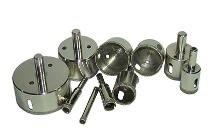 LOT Pcs SET Diamond Hole Saw Drill Bit Set Inch Granite - Diamond hole saws for ceramic tile
