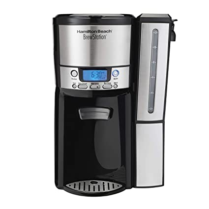 Hamilton Beach 47950 12-Cup BrewStation Dispensing Drip Coffeemaker