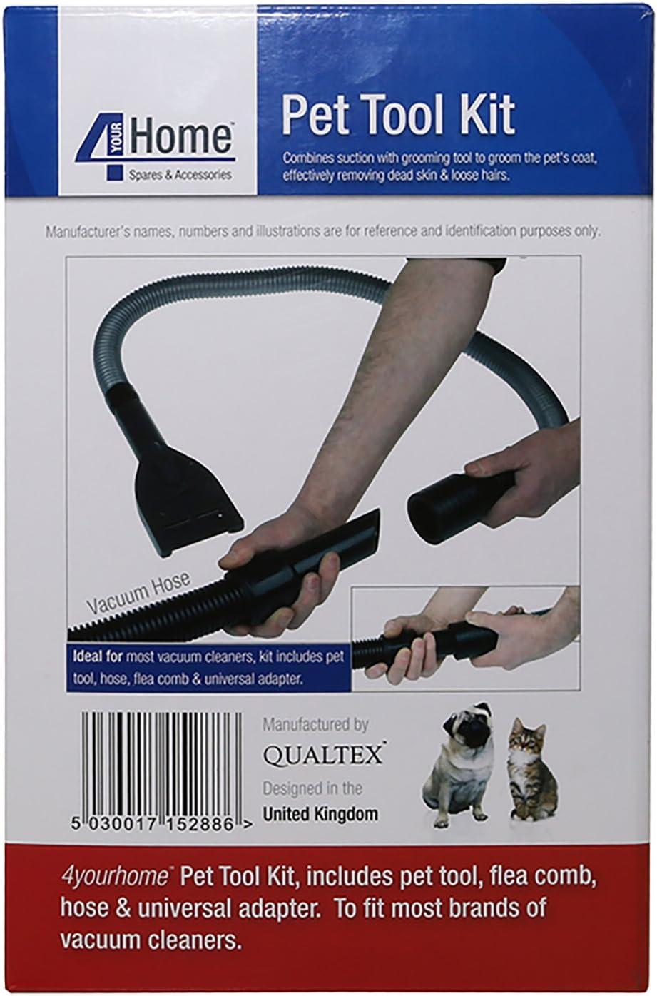32mm Universal Cat Dog Pet Grooming Hair Flea Fur Tool Brush Kit Hose for Vacuum