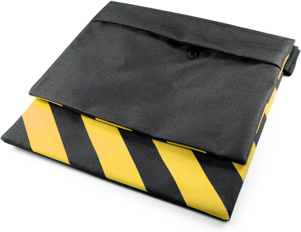 BEESCLOVER Sandbag Stripe Balance Weight Double Layers Sandbag Tripod Boom Flash Light Stand Yellow