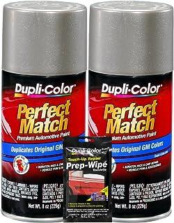 Dupli-Color Pewter Metallic General Motors Exact-Match Automotive Paint - 8 oz,