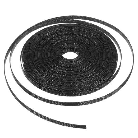 MASUNN 15 M 8 Mm//10 Mm//12 Mm//15 Mm//20 Mm Cable Extensible Forrado Forro Trenzado Telar Tuber/ía Nylon-8 Mm