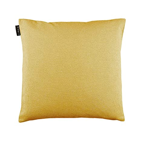 Funda de cojín de Lino, algodón, Color Amarillo Mostaza, 50 ...