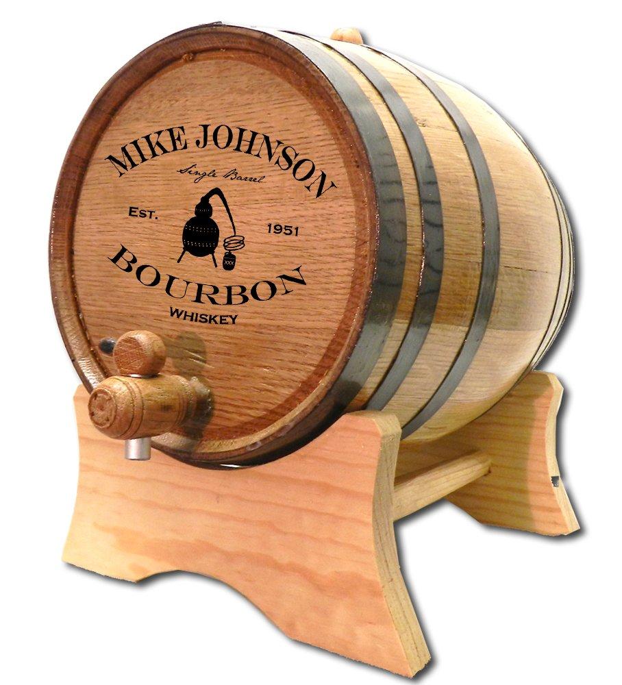 Personalized Copper Still Bourbon 5 Liter White Oak Barrel (B409) Thousand Oaks Barrel Co copper-still-5L