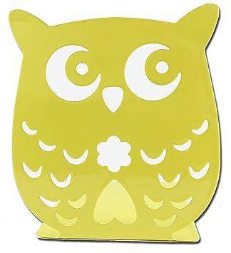 Amazon.com : Owl Wonderland Bookends - Cute Lightweight Baby Owls ...