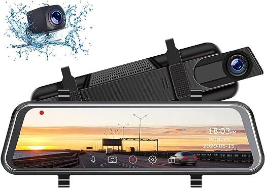 Toguard 10 Volltouch Screen Dashcam Für Den Elektronik