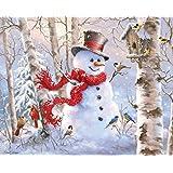 Springbok Puzzles Winter Friends Jigsaw Puzzle (1000 Piece)