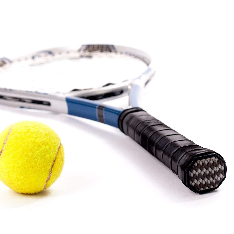 Febbya Tenis Grip, Raqueta Grip 9 Pack Anti Slip Perforado Overgrip Tenis Bádminton Squash Racketball Raqueta y caña de Pescar: Amazon.es: Deportes y aire ...