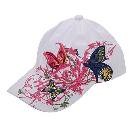 ITODA niña de verano sombrero de béisbol de algodón niños hip-hop gorra sol  Vintage 5db936cd0dc