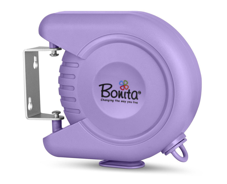 Bonita Delight Retractable Clothes Line - Rich Plum, CL01-50PU