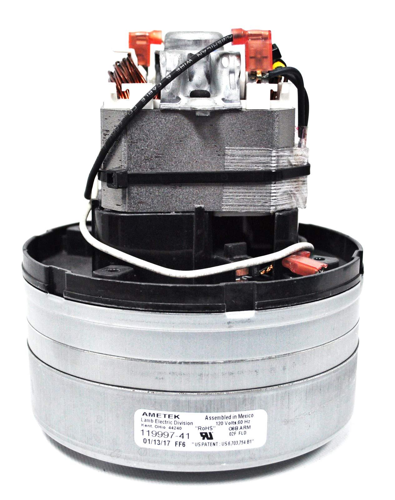 Ametek Lamb 5.7 Inch 120 Volt TF 2 Stage Vacuum Motor 119997-41 by Ametek