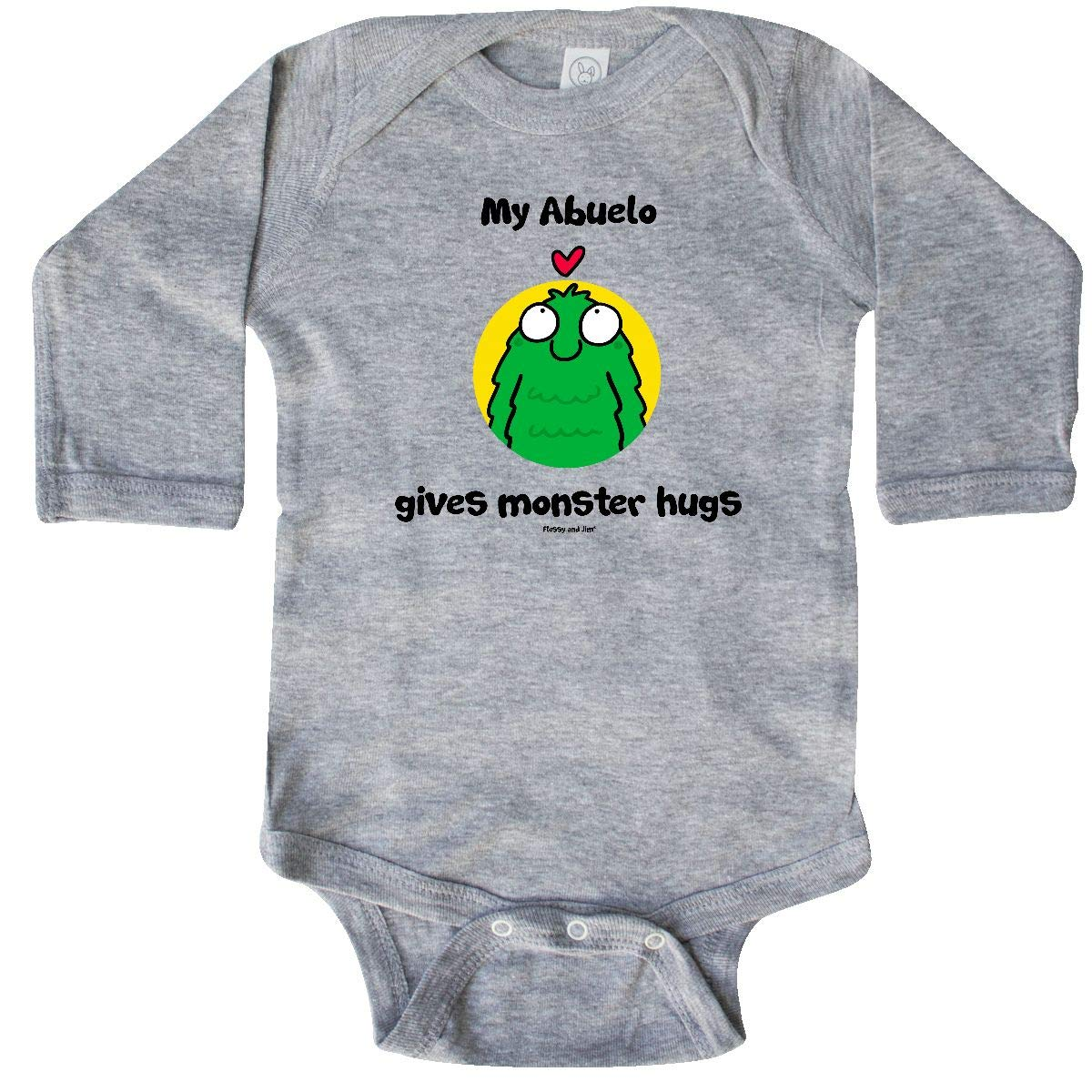 Amazon.com: inktastic Abuelo Gives Monster Hugs Long Sleeve ...