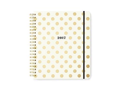 Kate Spade New York Agenda de 2016 - 17 con espiral, puntos ...