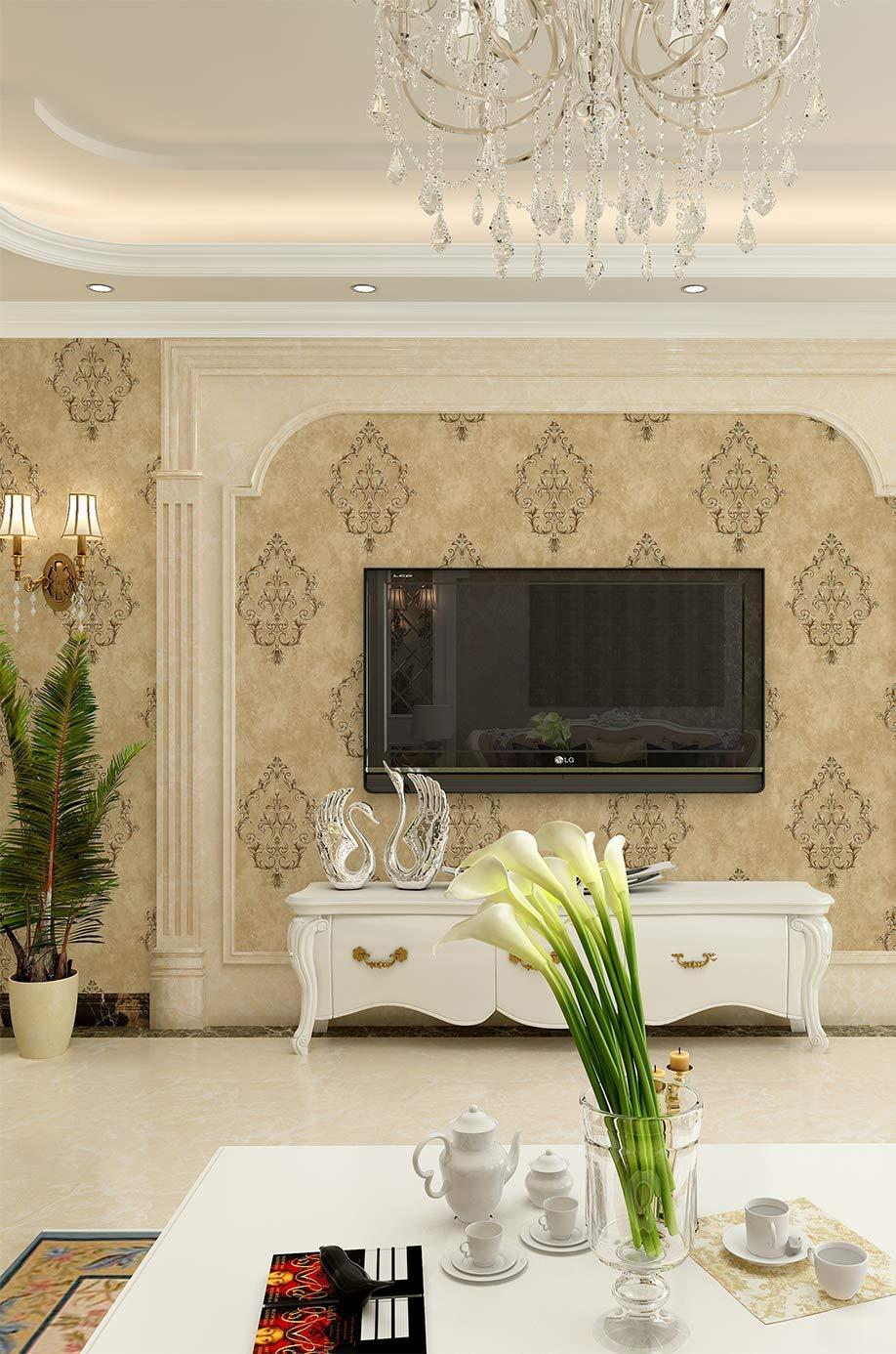 D Decor WallArt Designer Wallpaper for Home,Living Room, Bedroom