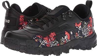 e6b3ae24c486d Amazon.com | PUMA Unisex x Outlaw Moscow Trailfox Graphic Sneaker ...