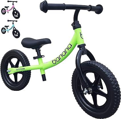 Kids Lightweight Balance Bike for Toddlers 2 Banana Bike LT 3 4 Year Olds